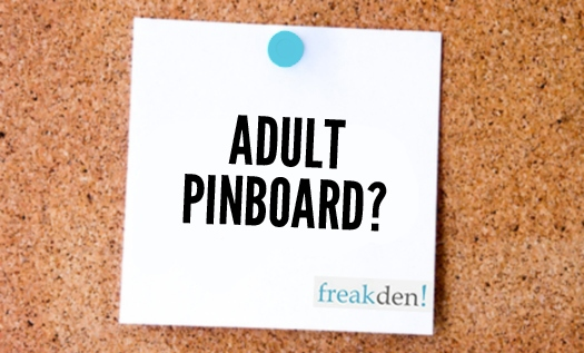 What's an Adult Pinboard site?