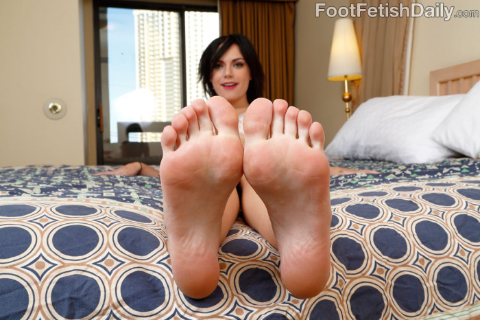 Press Your Face to the Soles of My Feet