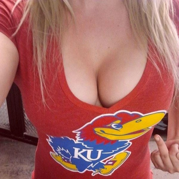 Blonde College Girl Rocking Some Big Tits
