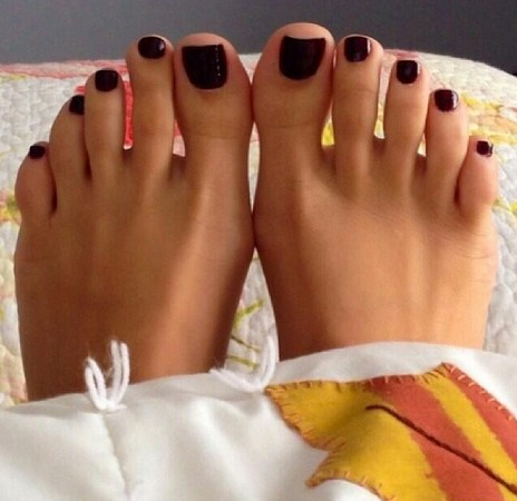 Dream about kissing my pretty toes