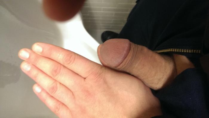 Tiny circumcised dick