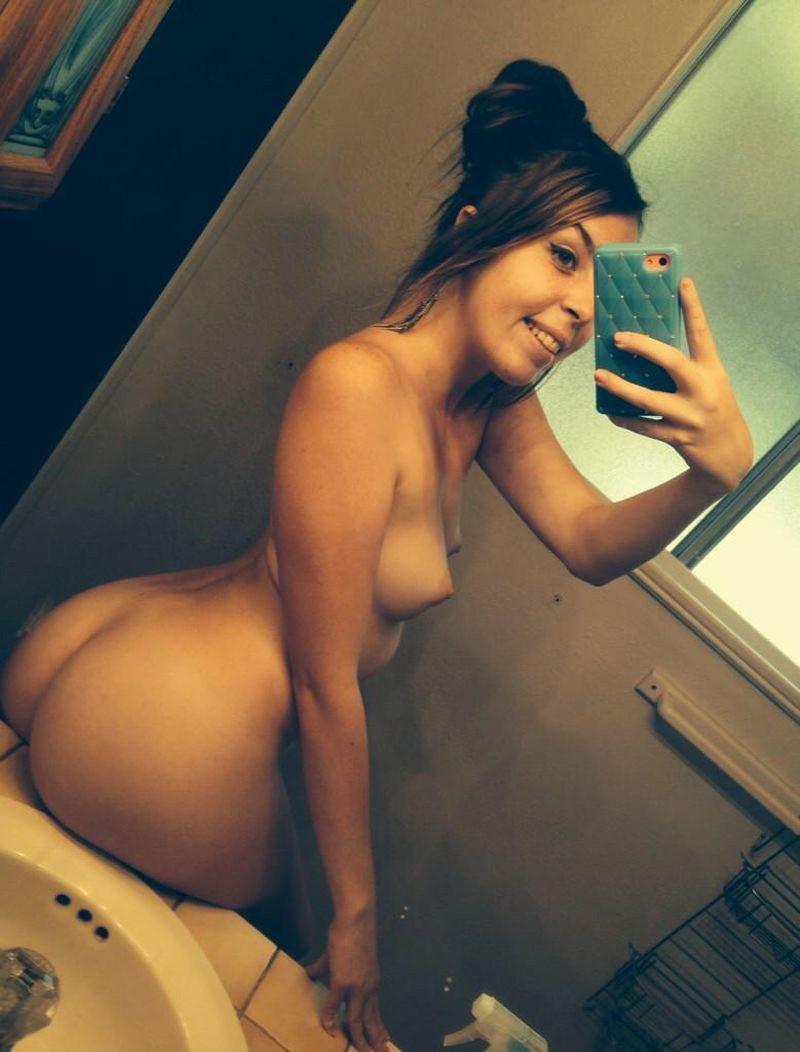 Pretty Selfie Buns
