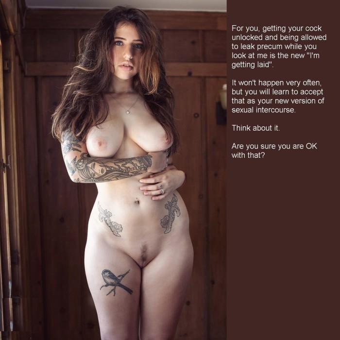 Chastity Princess explains getting laid