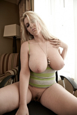 Blonde with some big naturals