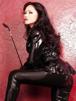 Asian Latex Mistress