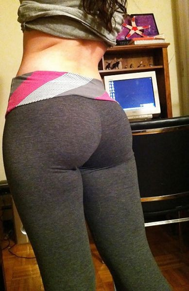 Whenever I see yoga pants I get hard
