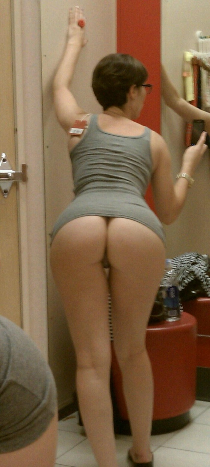 Dressing Room Buttfie For You Guys - Freakden-2732