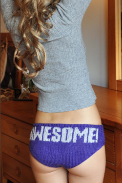 Cute panties are awesome