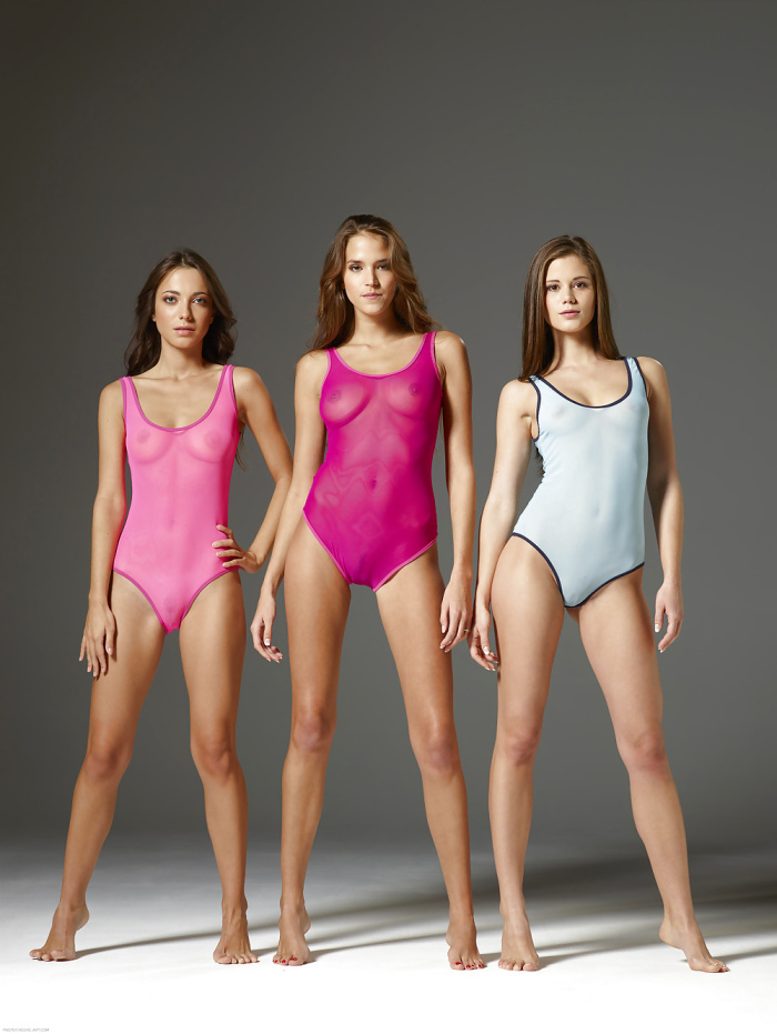 Who else loves sheer leotards?