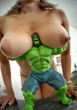 Even the hulk can't handle these big girls