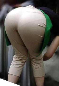 VPL in Tight Khaki Pants