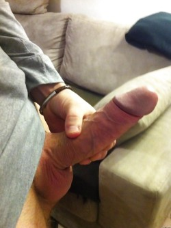 Nice big fat cock on him