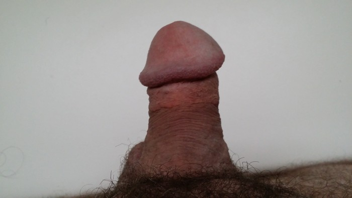 My POV of my hard penis. Is it pathetic? Will I ever get laid? (Repin) – Yes it is. No you ...