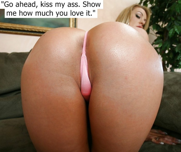 Kiss my ass pov