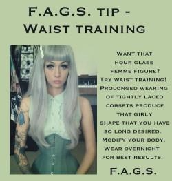 FAGS TIP Waist Training