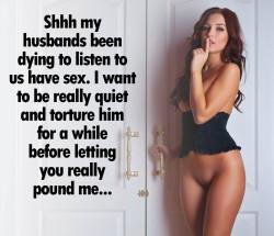 Hot Wife Cuckold Tease Caption