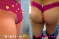 From a Man to a Sissy Girl