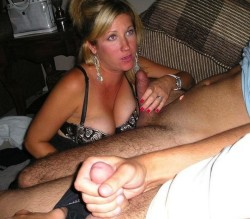 She loves making you watch her suck my cock