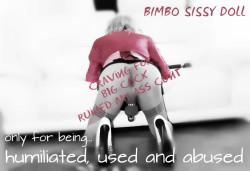 Bimbo Sissy Doll