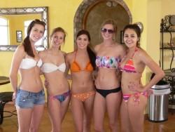 So many pretty college girls in their bikinis