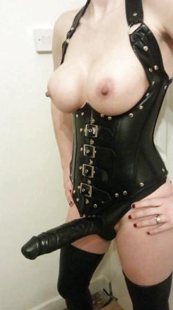Mistress Has a Big Black Strapon