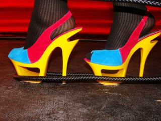 Bright Colored Heel Luring Your Eyes