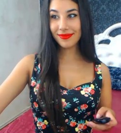 Latina Camgirl CFNM Cam Session