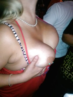 Party Girls Flashing Those Tits