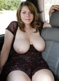 Flash Those Big MILF Tits at Me