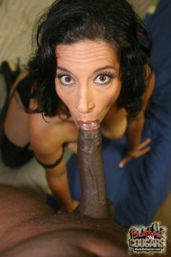 This is how your wife looks sucking BBC