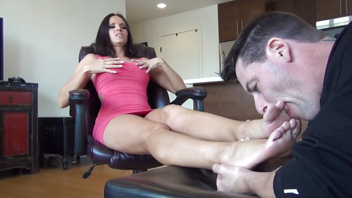Sex slaves domination sucking toes