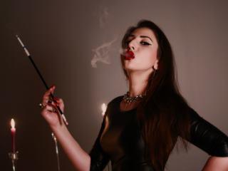 Watch Mistress Smoke While You Stroke