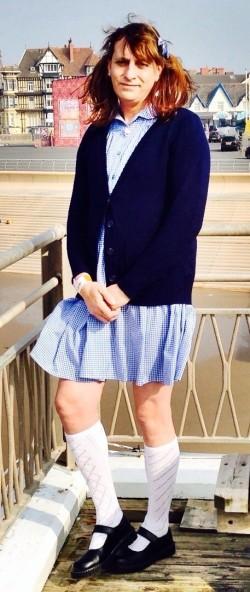 Sissy schoolgirl Katie Jane taylor real name kenneth taylor