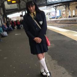 Sissy schoolgirl