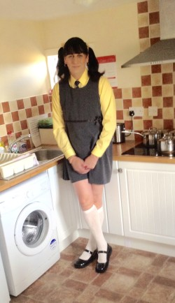 Little sissy schoolgirl Katie/kenneth