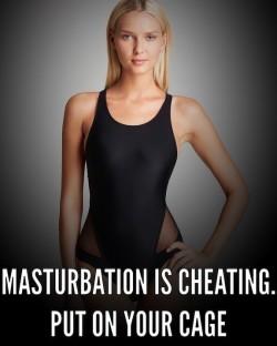 Mistress Said Masturbation is Cheating