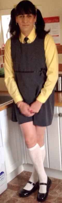 Sissy schoolgirl Katie/kenneth taylor