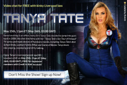 Tanya Tate Webcam Show 5/25