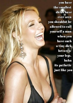 Britney Laughs at Your Pathetic Little Dick