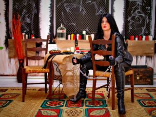 Domme Melissa the Leather Dominatrix