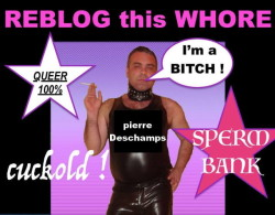 Pierre the sissy faggot