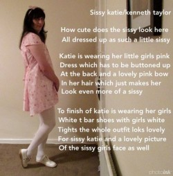 Just how much of a little sissy girl does Katie look here