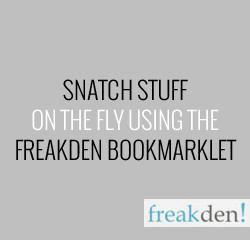Learn How to Snatch Stuff with the Bookmarklet