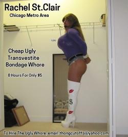 Cheap Ugly Transvestite Bondage Whore (album #5747693) – RealPicsOnly.com