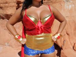 Didn't know Wonder Woman had tits this big?