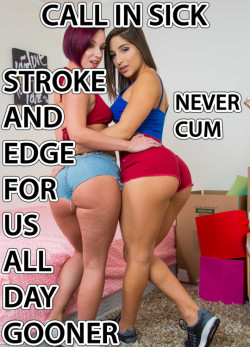 Stroke and Edge for Us All Day but Never Cum