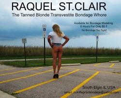 Raquel St.Clair the Cheap Tanned Blonde Bondage Whore (album #5779359) – RealPicsOnly.com