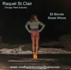 Raquel St.Clair the Tanned Blonde $5 Street Whore (album #5779557) – RealPicsOnly.com