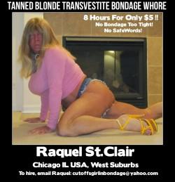 Tanned Blonde Transvestite Bondage Whore, Chicago (album #5747697) – RealPicsOnly.com