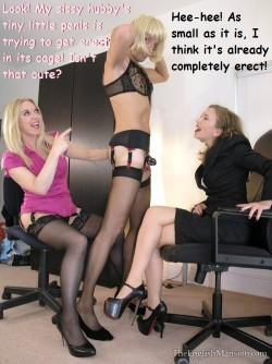 Chastised Sissy Hubby Trying to Get an Erection but Gets SPH Instead